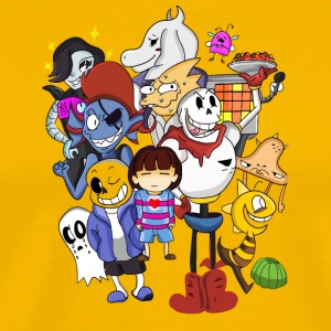 Undertale Family - Men's Premium T-Shirt