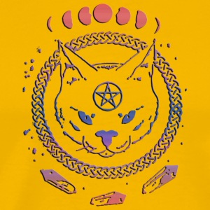 SATANIC CAT - Men's Premium T-Shirt