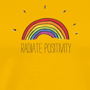 Radiate Positivity - Men's Premium T-Shirt