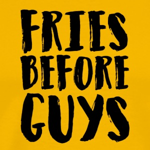 Fries before guys Artboard 1 - Men's Premium T-Shirt