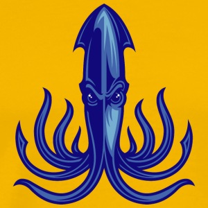 octopus_blue - Men's Premium T-Shirt