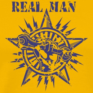 REAL MAN - Men's Premium T-Shirt