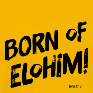 Born of Elohim - Men's Premium T-Shirt