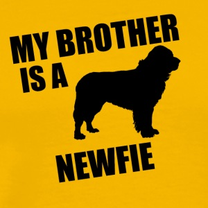 My Brother Is A Newfie - Men's Premium T-Shirt