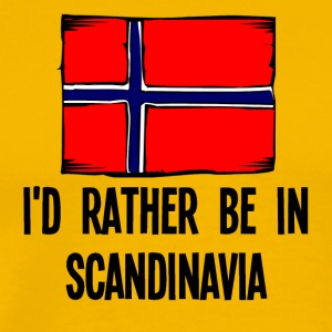 I'd Rather Be In Scandinavia - Men's Premium T-Shirt