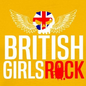 BRITISH GIRLS ROCK - Men's Premium T-Shirt