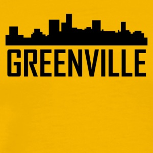 Greenville South Carolina City Skyline - Men's Premium T-Shirt