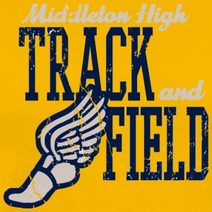 Middleton High Track And Field - Men's Premium T-Shirt