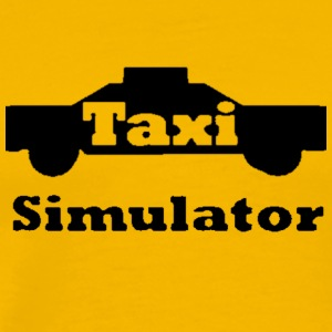 Taxi Simulator-In Real Life! - Men's Premium T-Shirt