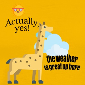 How is weather? - Men's Premium T-Shirt