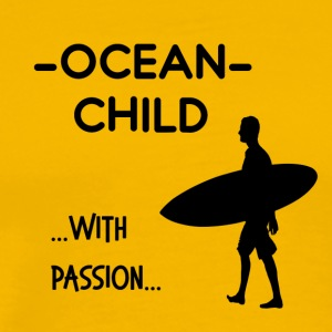 Exclusive Ocean child design - Men's Premium T-Shirt