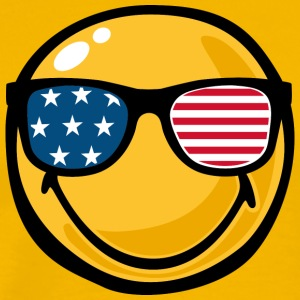 SmileyWorld America Sunglasses Smiley - Men's Premium T-Shirt