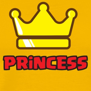 Family King and Queens Princess - Daughter - Men's Premium T-Shirt