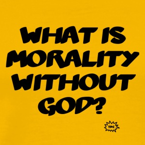 What is morality? - Men's Premium T-Shirt