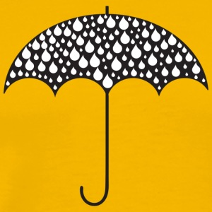 Umbrella Illustration - Men's Premium T-Shirt