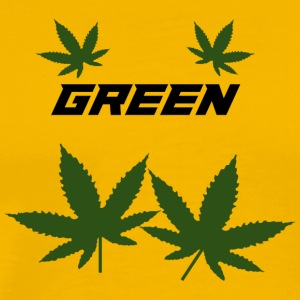 green weed - Men's Premium T-Shirt