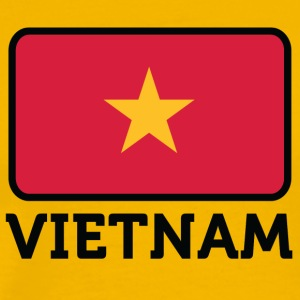 National Flag Of Vietnam - Men's Premium T-Shirt