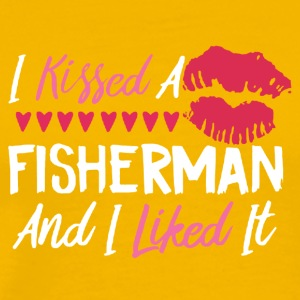I KISSED A FISHERMAN SHIRT - Men's Premium T-Shirt