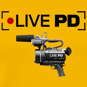 Live PD Record - Men's Premium T-Shirt