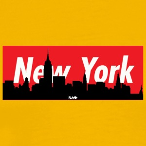 NYC SKYLINE - Men's Premium T-Shirt