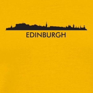 Edinburgh Scotland Skyline - Men's Premium T-Shirt