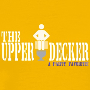 The upper decker a party favorite - Men's Premium T-Shirt