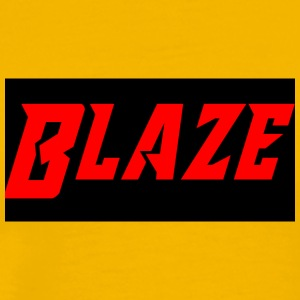 Blaze logo name - Men's Premium T-Shirt