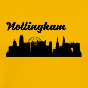 Nottingham Skyline - Men's Premium T-Shirt
