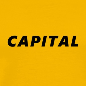 Capital Crew T-Shirt - Men's Premium T-Shirt