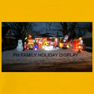 PH FAMILY HOLIDAY DISPLAY - Men's Premium T-Shirt