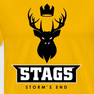 League of Thrones - Stags - Men's Premium T-Shirt