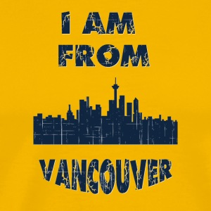 vancouver I am from - Men's Premium T-Shirt