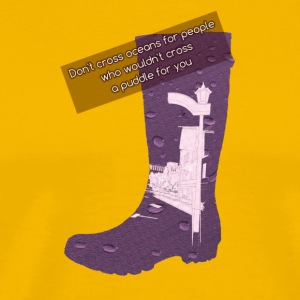 Gummy Boot lilac - Men's Premium T-Shirt