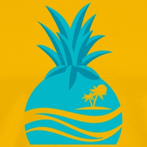 Island Pineapple - Men's Premium T-Shirt