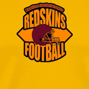 Redskin Football - Men's Premium T-Shirt