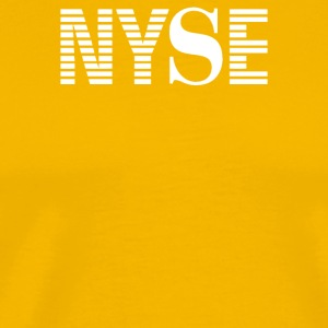 NYSE New York Stock Exchange - Men's Premium T-Shirt
