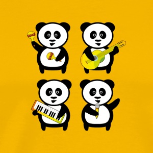 Band of pandas - Men's Premium T-Shirt