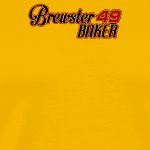 Brewster Baker Six 6 Pack Movie Kenny Rogers - Men's Premium T-Shirt