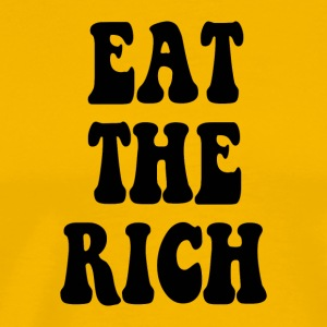Eat the Rich Occupy Wall Street - Men's Premium T-Shirt