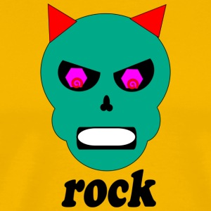 rock devil - Men's Premium T-Shirt