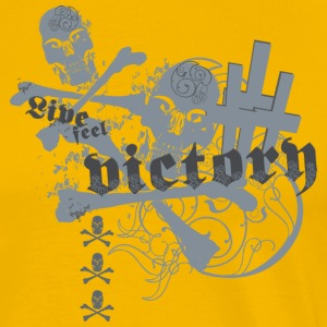 live feel victory - Men's Premium T-Shirt