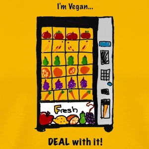 Vegan Vending Machine - Men's Premium T-Shirt