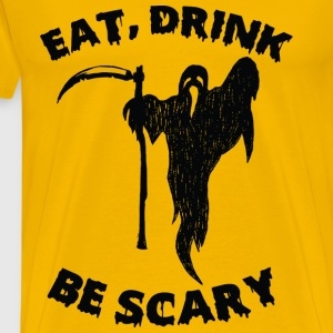 Halloween Scary T-shirt - Men's Premium T-Shirt