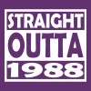 29th Birthday T Shirt Straight Outta 1988 - Men's Premium T-Shirt