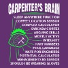Funny Carpenter Carpenter's Brain T Shirt - Men's Premium T-Shirt
