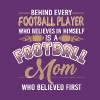 Football Mom Who Believed First T Shirt - Men's Premium T-Shirt