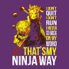 naruto - my ninja way t shirt - Men's Premium T-Shirt