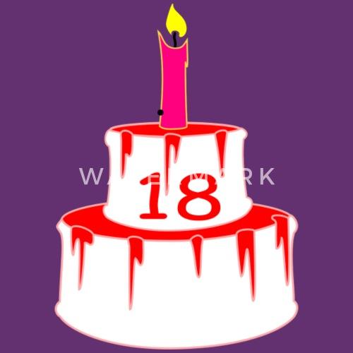 18 Birthday Cake By Alexwestshop