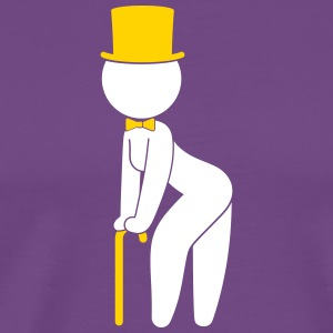 A Stripper Dancing On Stage - Men's Premium T-Shirt