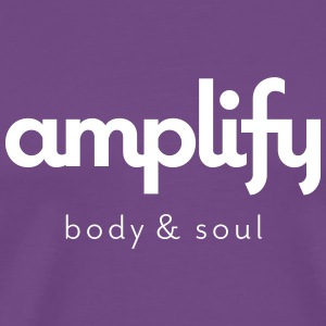 amplify logo - Men's Premium T-Shirt